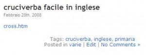 i tag in wordpress