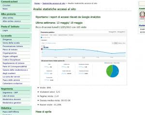 stralcio pagina analisi statistiche IC Arcola Ameglia